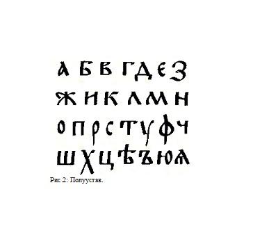 Современные шрифты